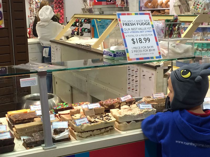 image - Dylan's Candy Store New York fudge