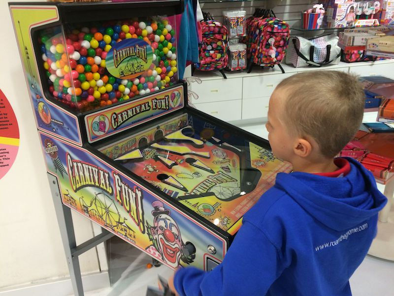 image - Dylan's Candy Store New York pinball
