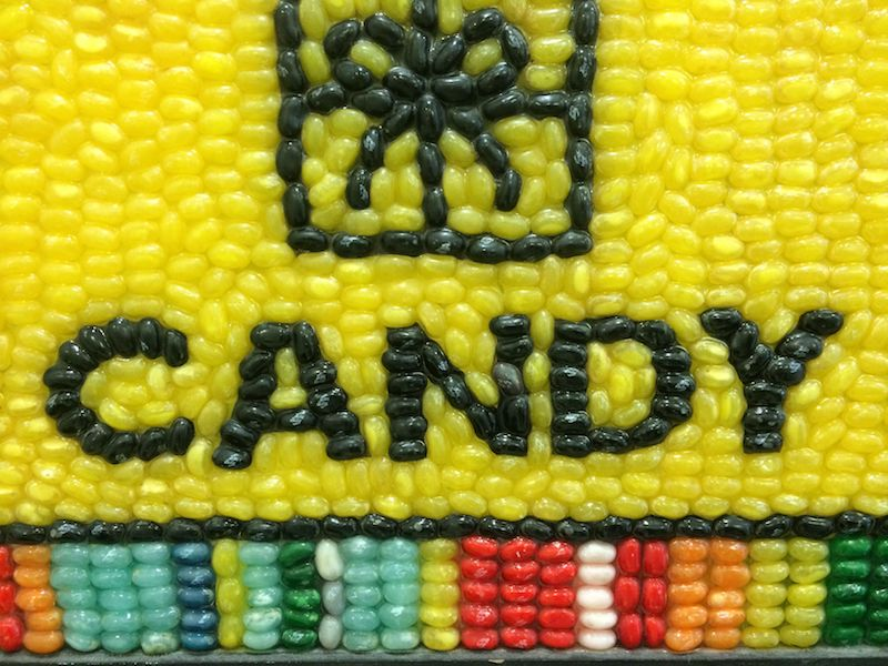 image - Dylan's Candy Store New York portrait close up