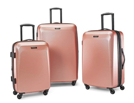 image - american tourister rose gold