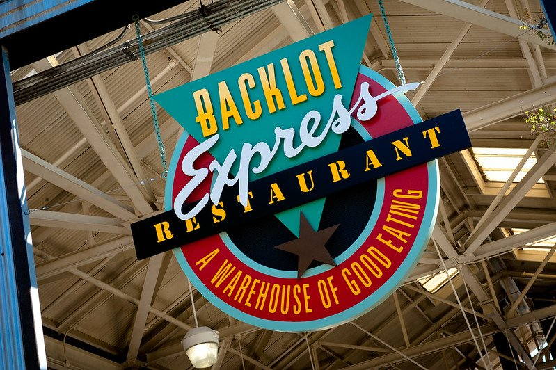 image - backlot restaurant at disney hollywood studios by josh hallet