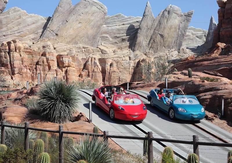 image - california adventure land disney cars radiator springs ride