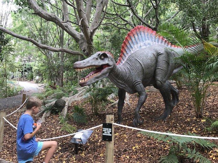 image - currumbin bird sanctuary dinosaurs