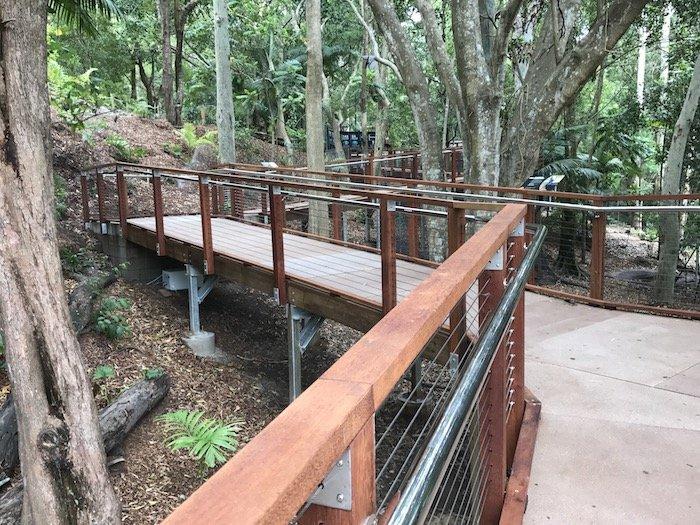 image - currumbin wildlife sanctuary the lost world board walk