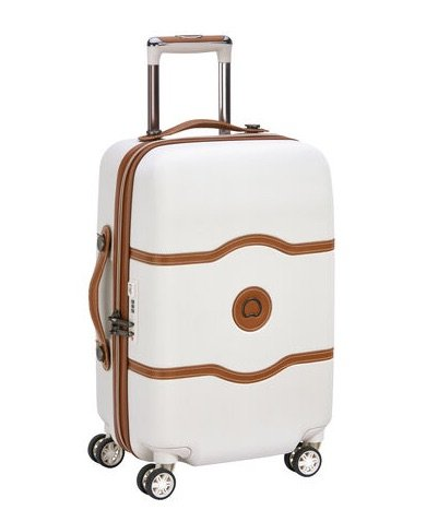 image - delsey suitcase in angora