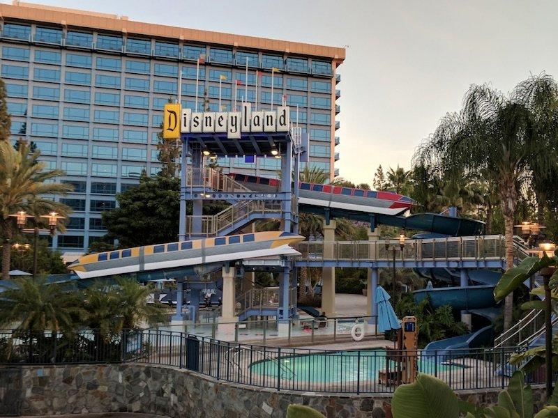 image - disneyland hotel slides