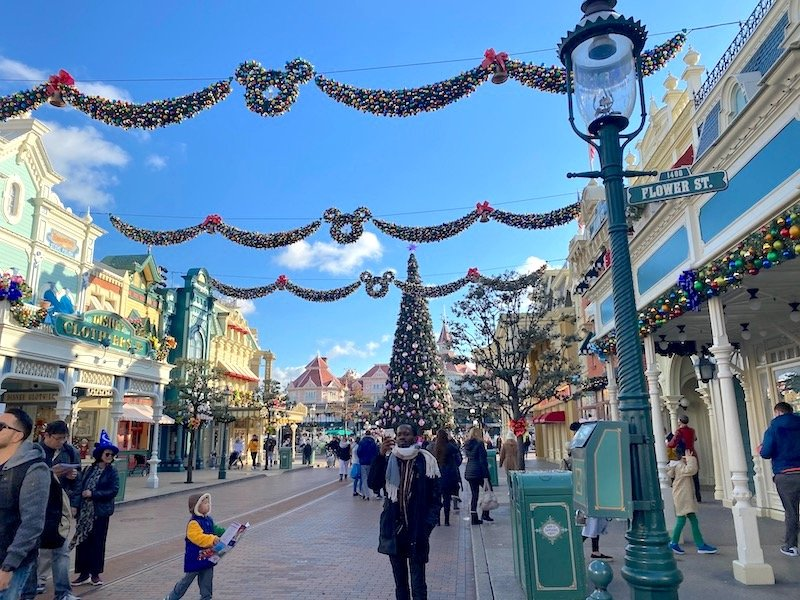 image - disneyland paris christmas