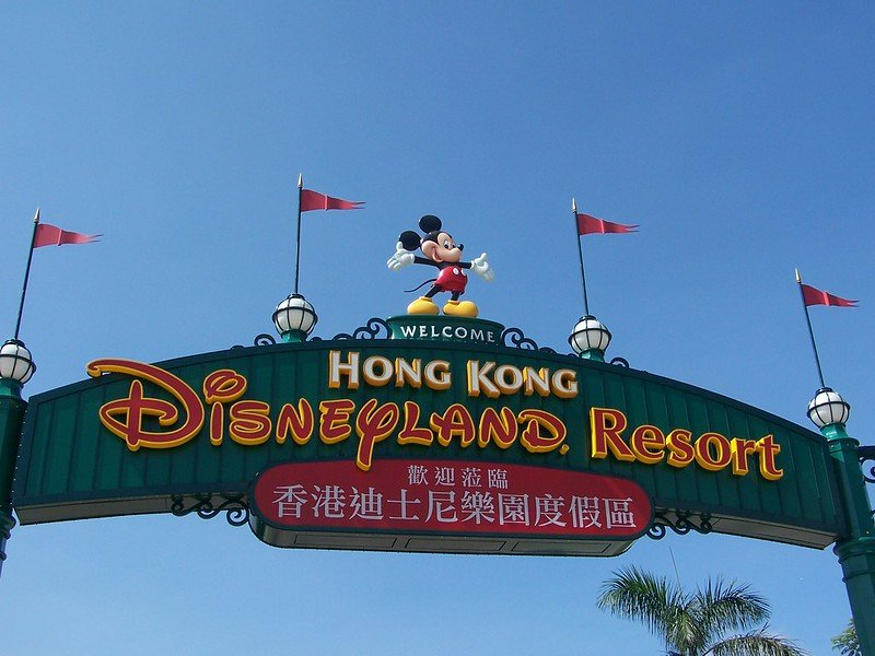 image - hong kong disneyland signs by joel 2728734437