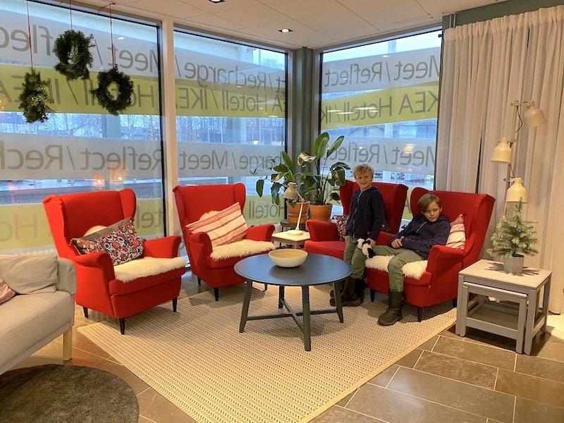 image - ikea hotel almhult reception area 2