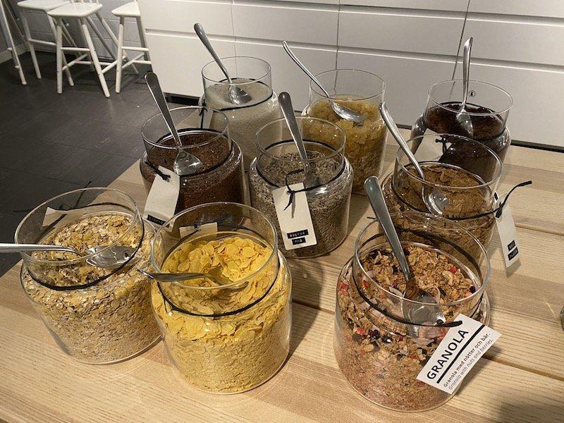image - ikea hotel breakfast cereal