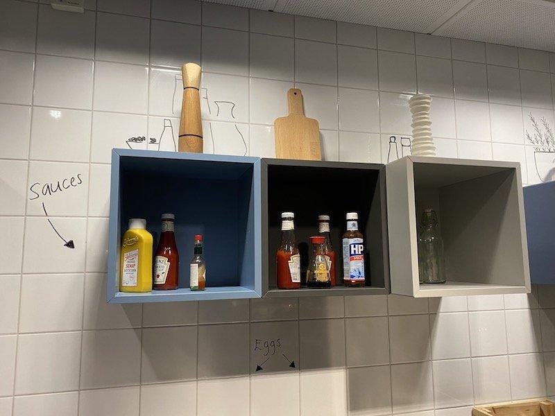 image - ikea hotel breakfast sauces
