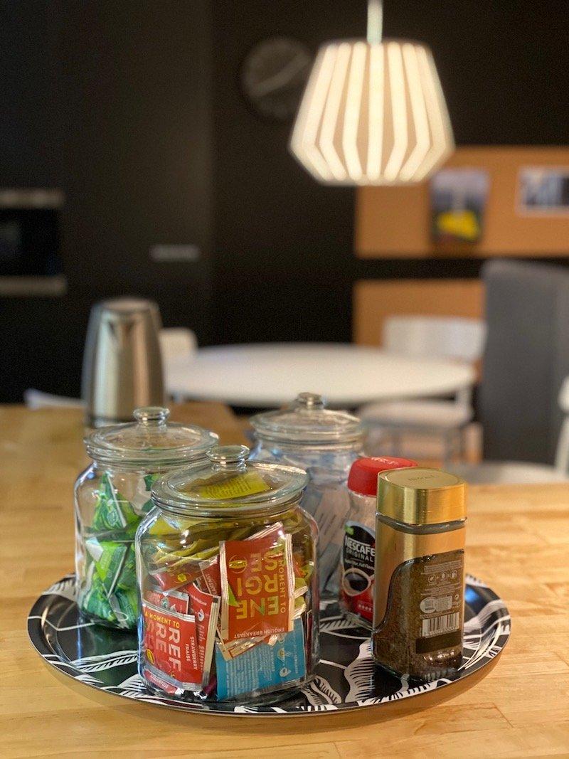 image - ikea hotel complimentary tea and coffee