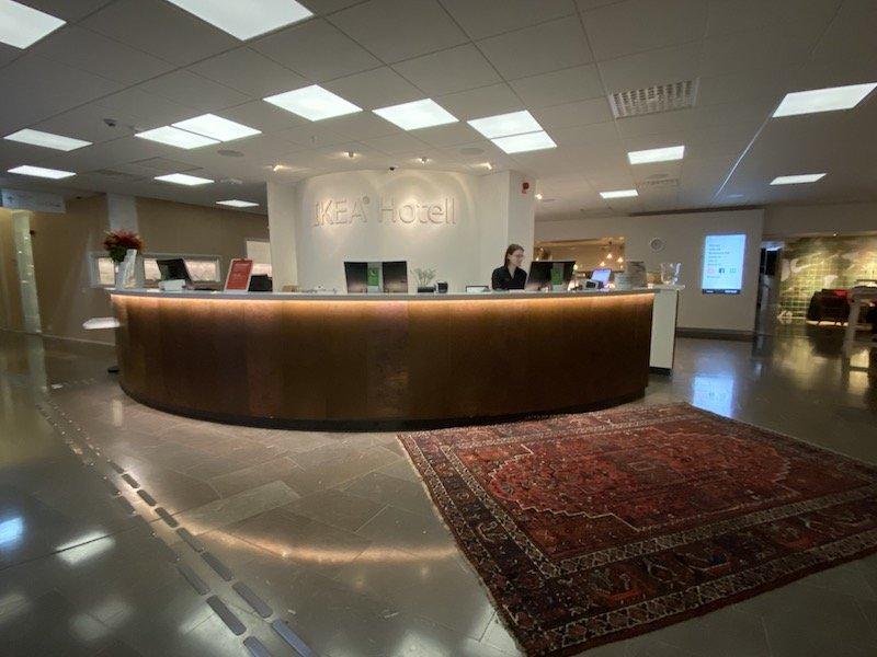 image - ikea hotel foyer reception