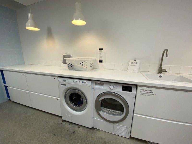 image - ikea hotel laundry room washer