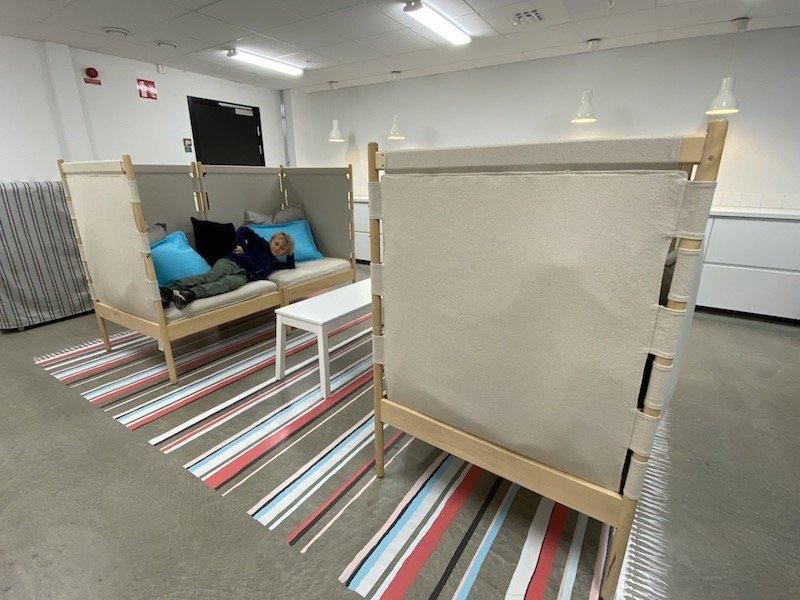 image - ikea hotel laundry room