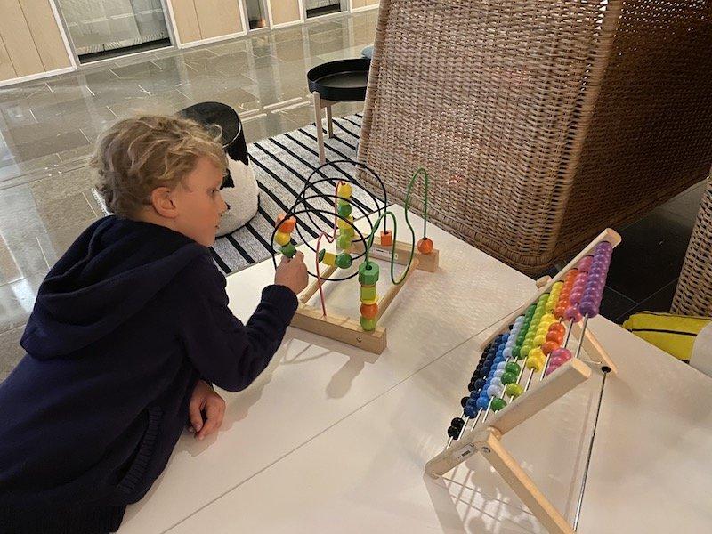 image - ikea hotel reception toys
