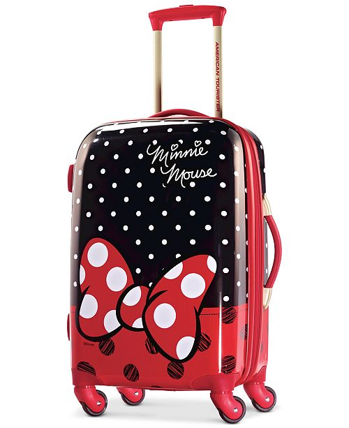 image - minnie mouse suitcase