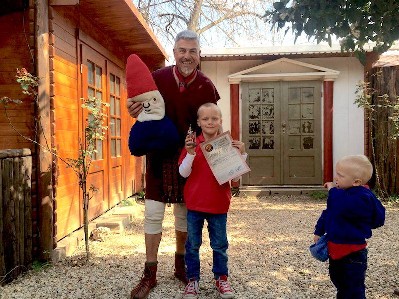image- ned gladiator training school prize winner