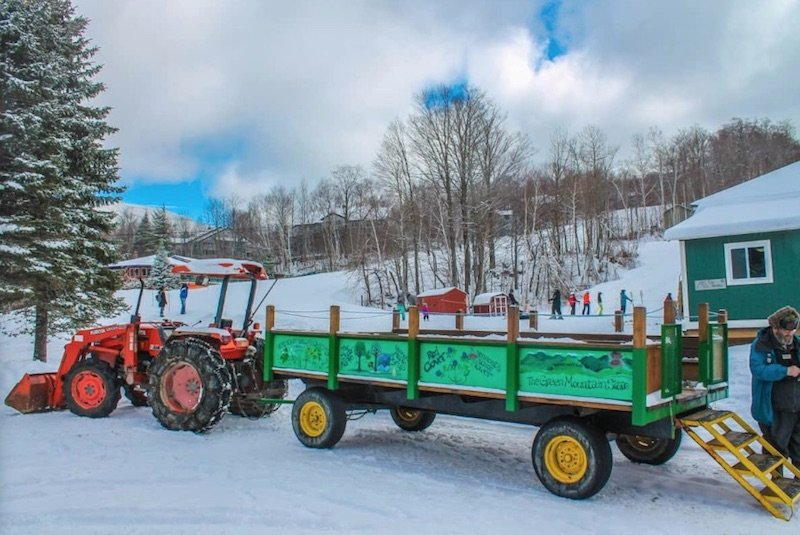 image - smugglers notch vermont wagon