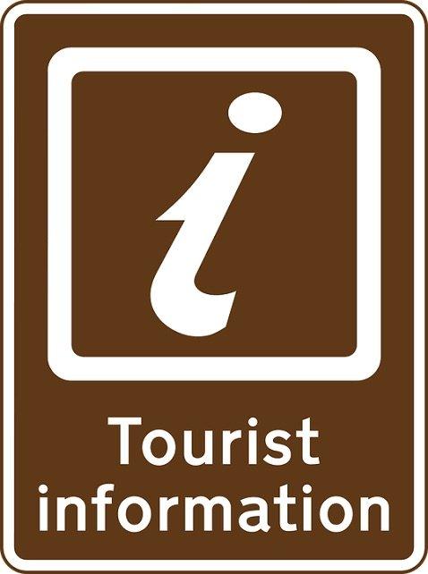 image - tourist-information sign
