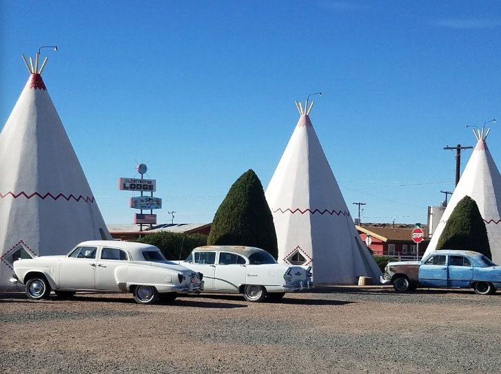image - wigwam teepees route 66