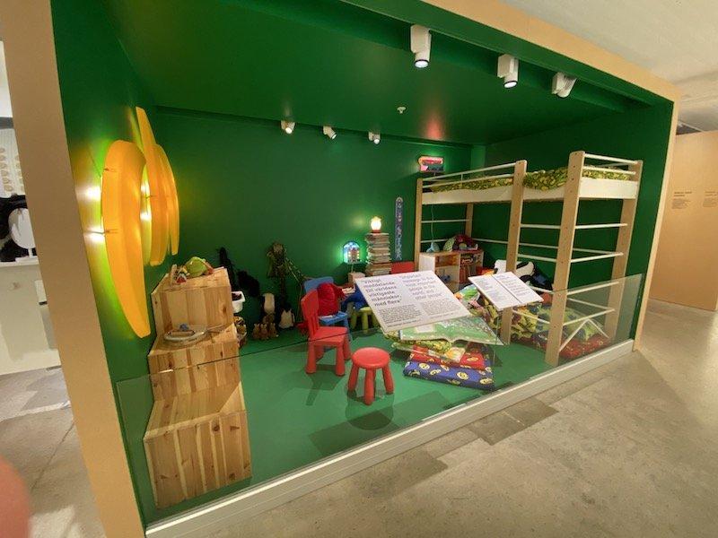 image - ikea museum childrens display