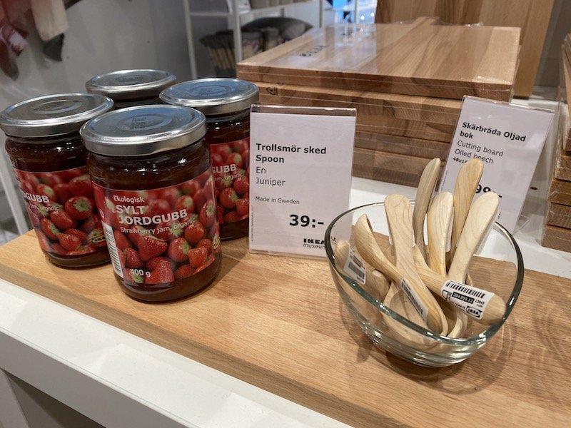 image - ikea museum shop lingonberry jam
