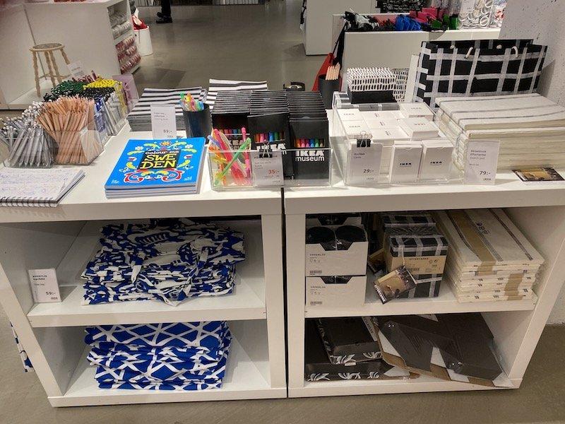 image - ikea museum shop stationery