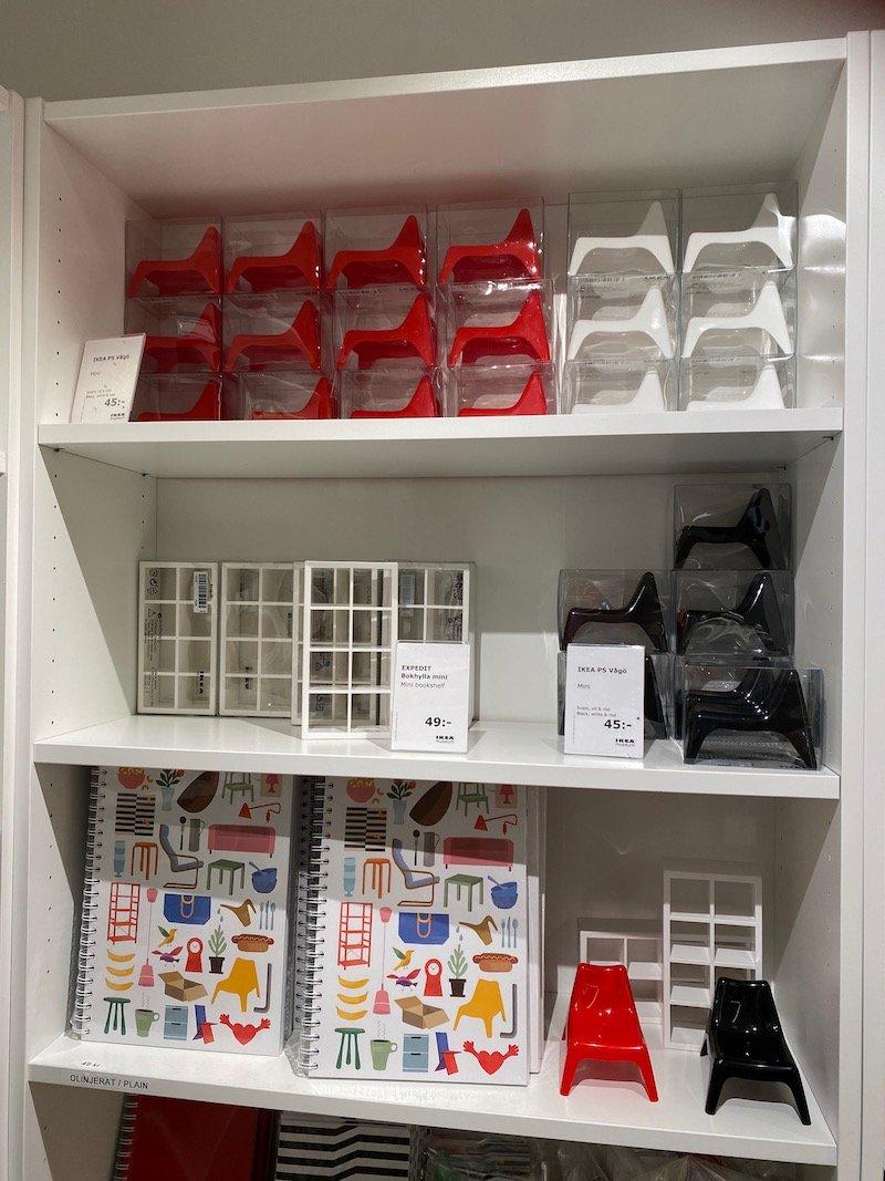image - ikea museum shop sweden miniature furniture