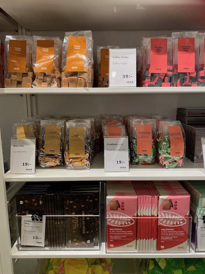 image - ikea museum shop swedish chocolate