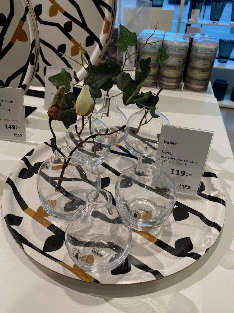 image - ikea museum shop vases