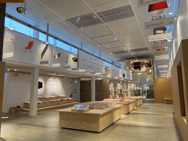 image - ikea museum sweden layout