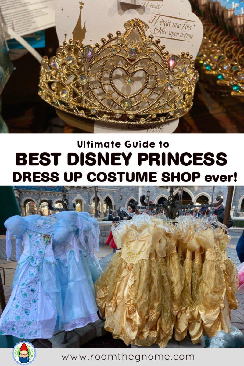 PIN best disney princess dress shop disneyland paris