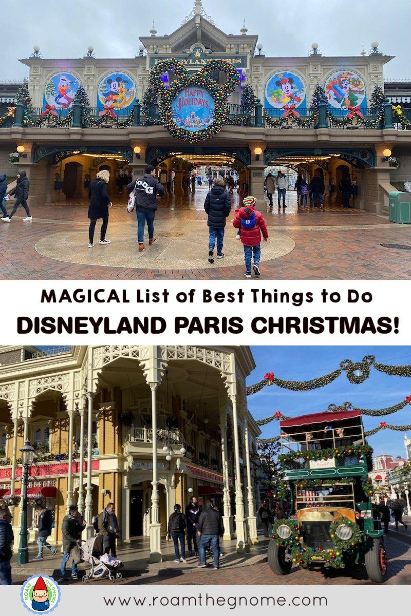 PIN magical disneyland paris christmas