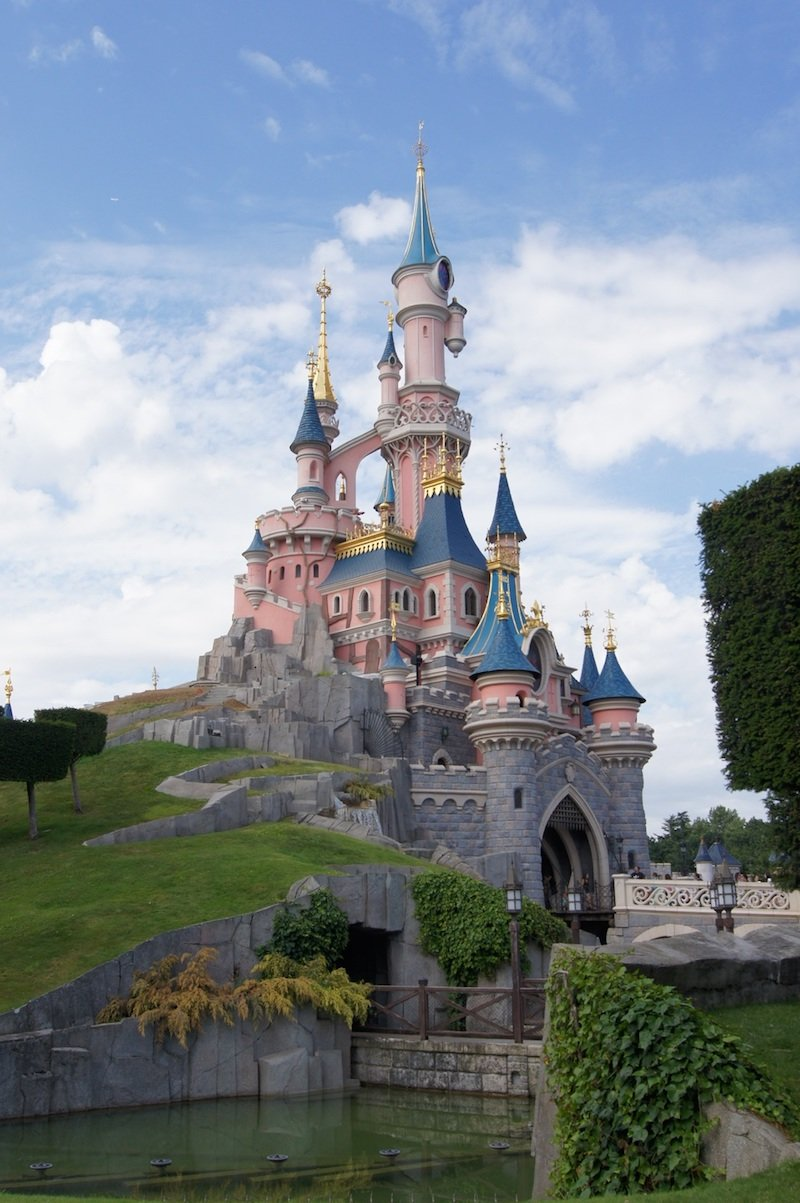 disneyland paris castle by pxhere