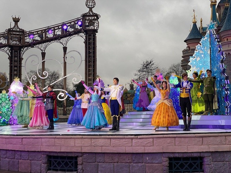 image - a fairy tale waltz with disney princesses