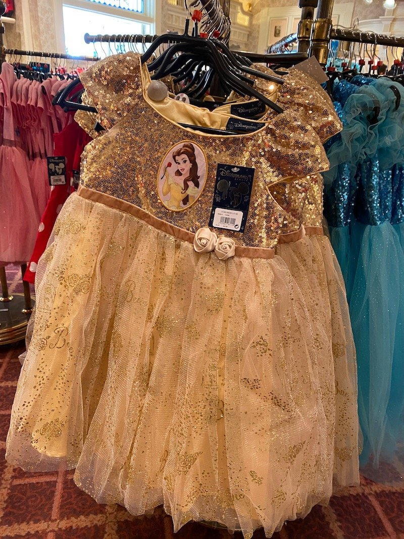 image - beauty and the beast belle dress up costume from casey's corner DLP