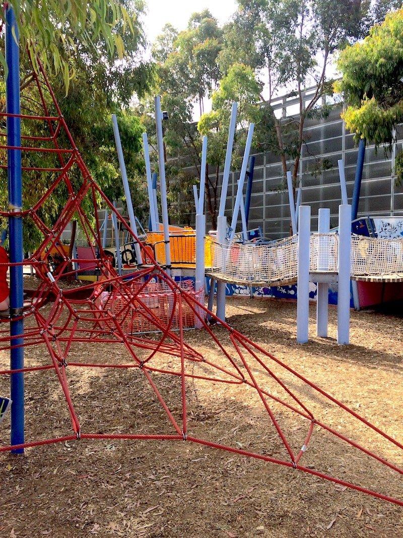 image - birrarung marr playground climbing pyramid 800
