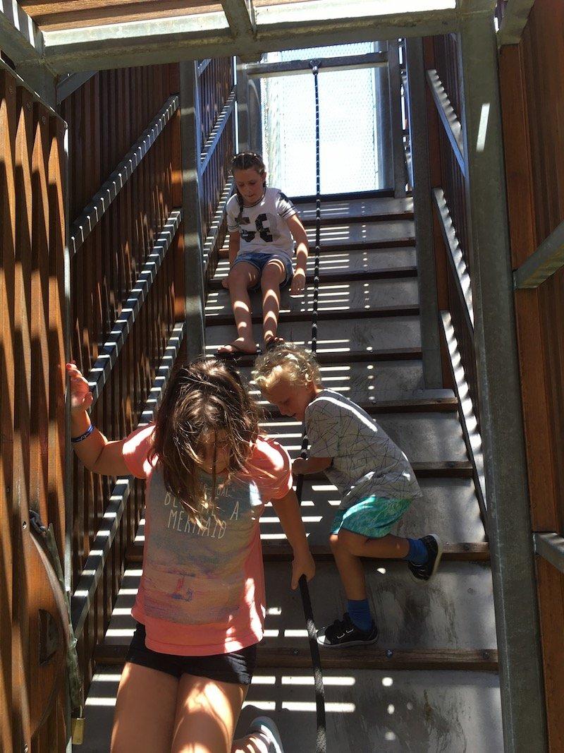 blaxland riverside park fort stairs