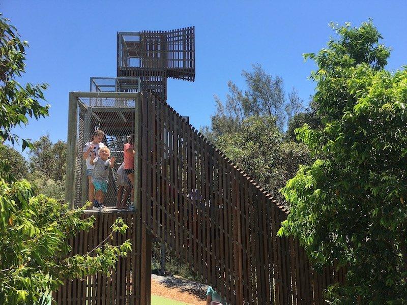 blaxland riverside park playground fort