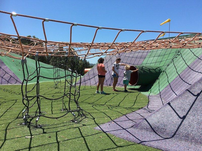 blaxland riverside park climbing nets