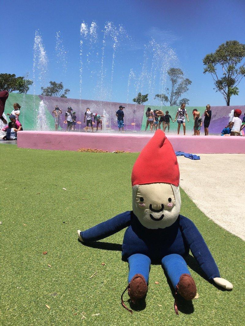 Sydney water park playground