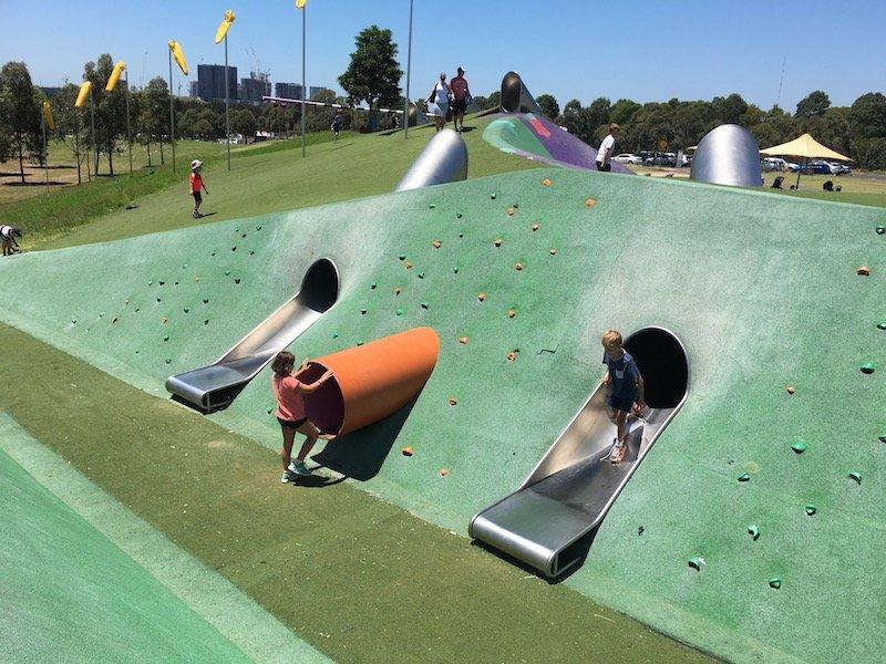 blaxland riverside park slides