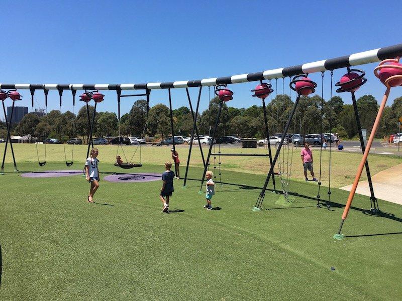 blaxland riverside park swings