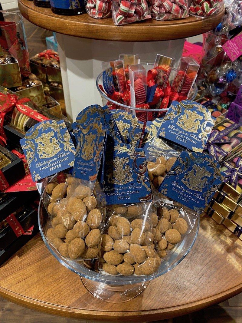 image - buckingham palace gift shop chocolate nuts