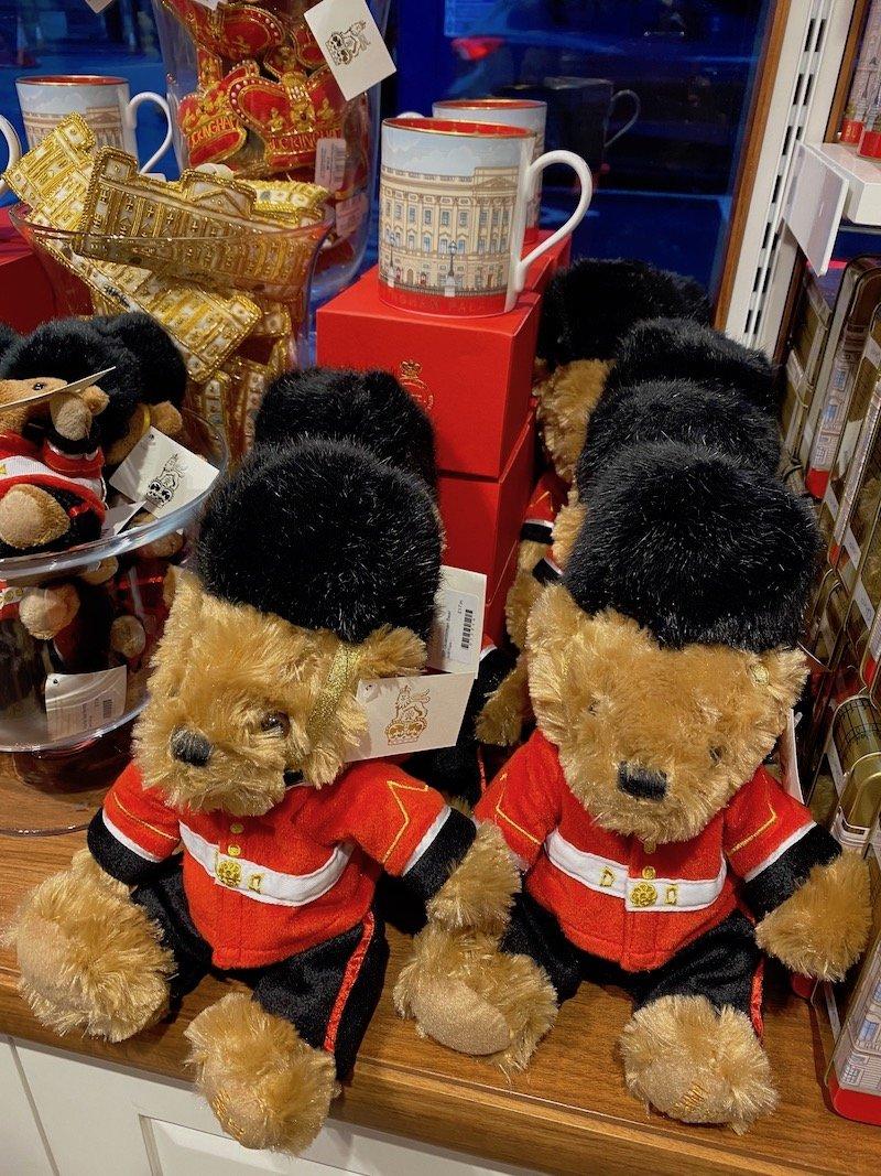 image - buckingham palace gift shop teddies