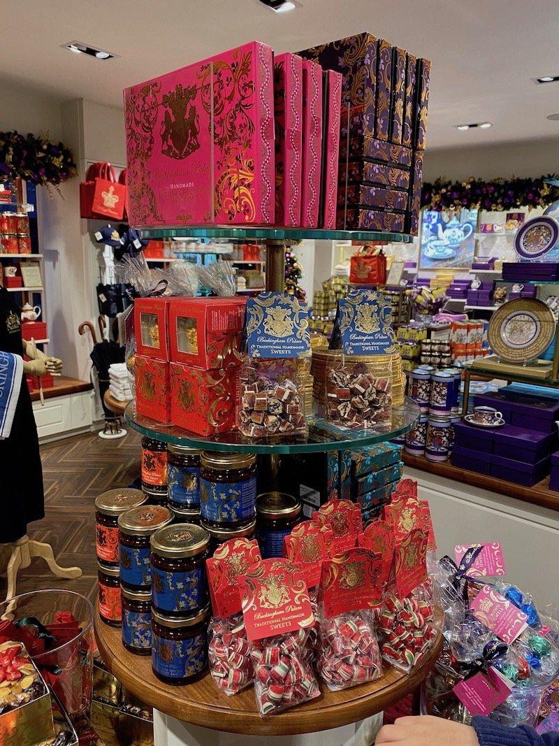 image - buckingham palace gift shop traditional sweets