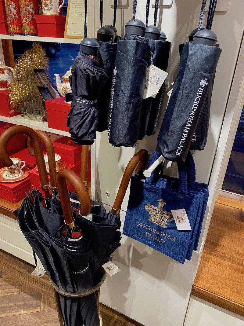 image - buckingham palace gift shop umbrellas