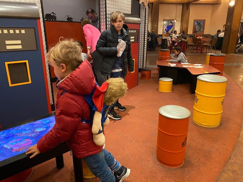 image - cars hotel disneyland paris kids play area at la cantina 2