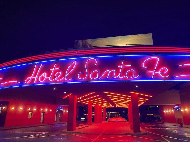 image - cars hotel disneyland paris neon sign